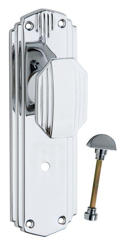 Art Deco Door S Chrome
