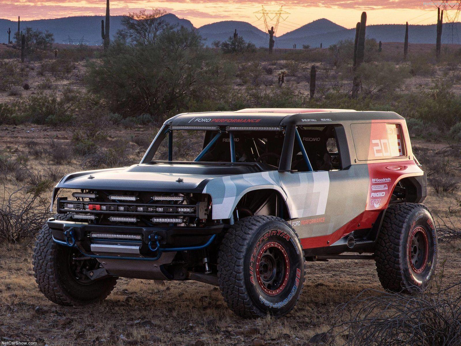 Ford Bronco R Concept Listo Para La Baja 1000 Ford Bronco Caballo Cimarron Ford