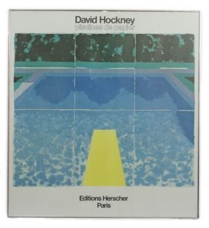 David Hockney (b.1937), Swimming Pool, lithographic colour poster - The Kensington Sale 9 - 14 December 2011 - Auction Atrium