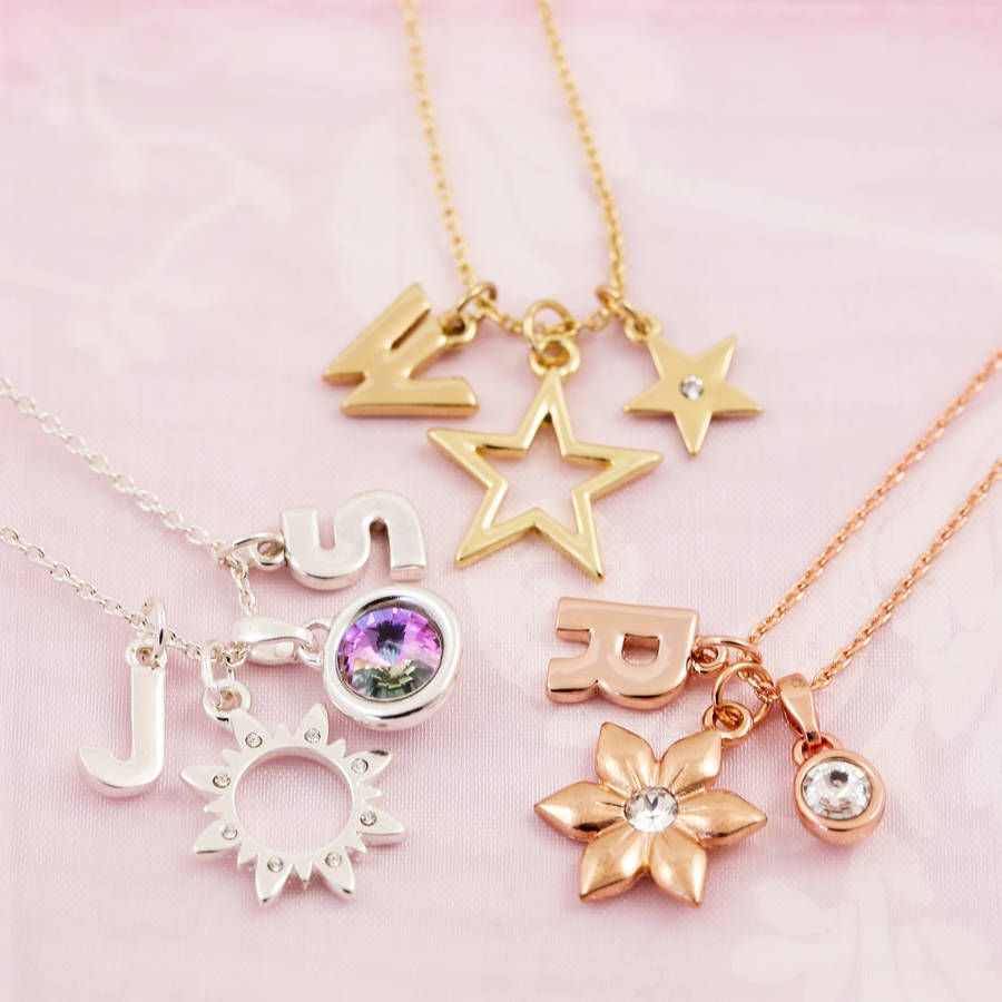 Design your own chunky letter necklace pinterest letter necklace design your own chunky letter necklace aloadofball Choice Image