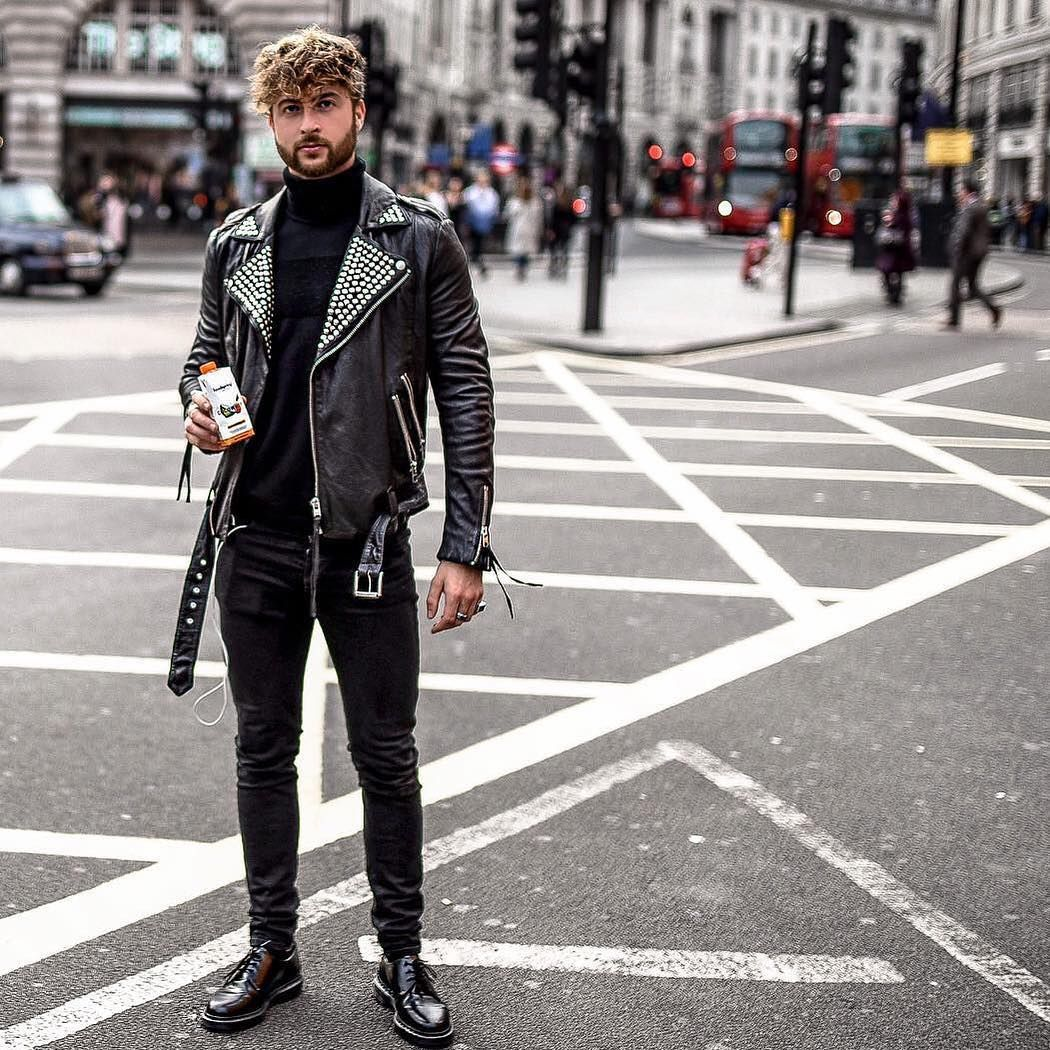 2 939 Likes 44 Comments Mensfashion Street Style Mensfashion Guide On In Leather Jacket Outfit Men Men S Street Style Photography Jackets Men Fashion [ 1050 x 1050 Pixel ]