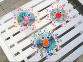 Upcycling Prickelnde CD-Blumen, Basteln mit Kindern