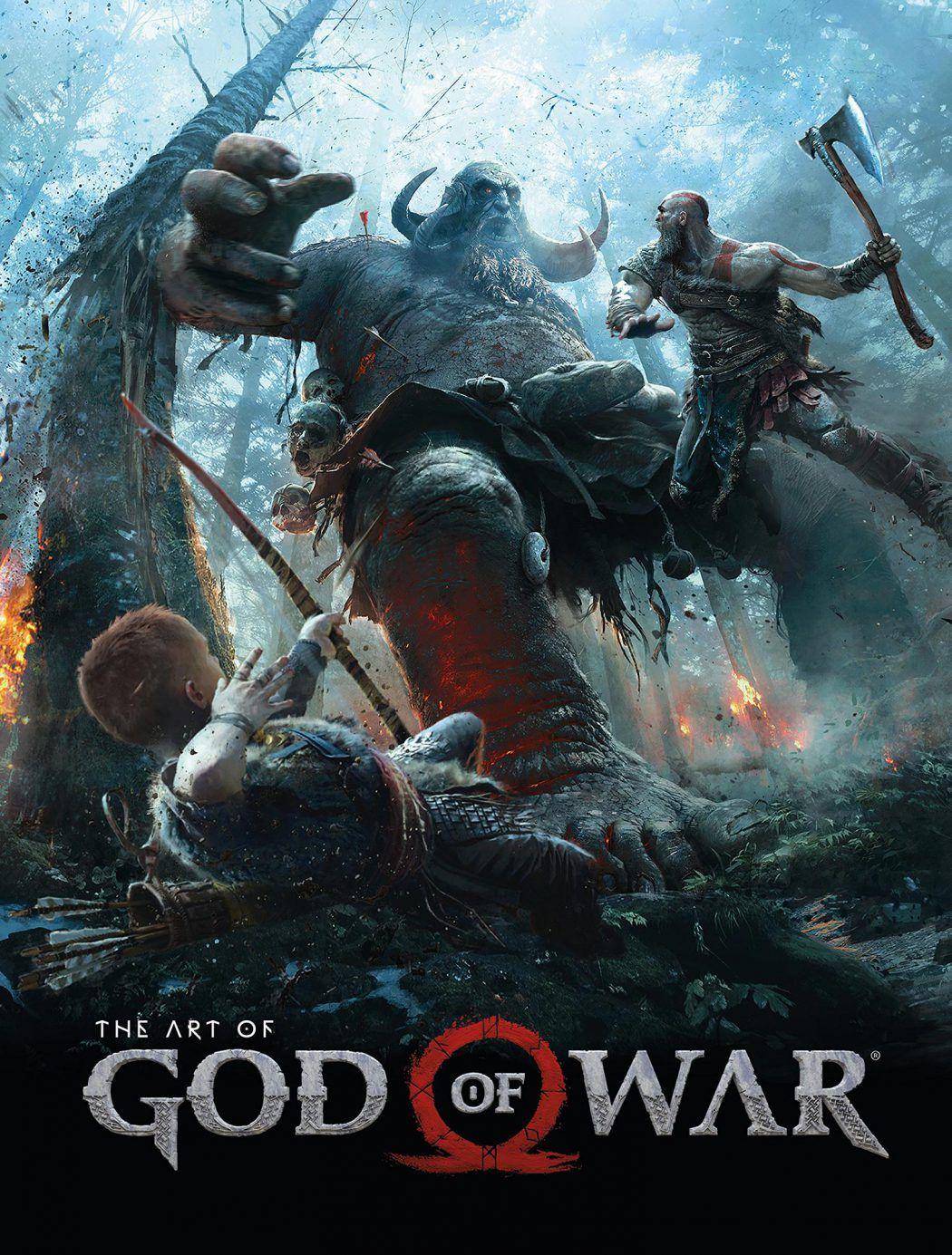 The Art Of God Of War God Of War Kratos God Of War