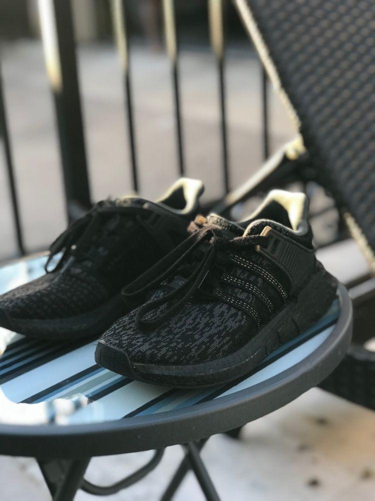 Adidas EQT Support 9317 Ultra Boost Triple Black BY9512 sz