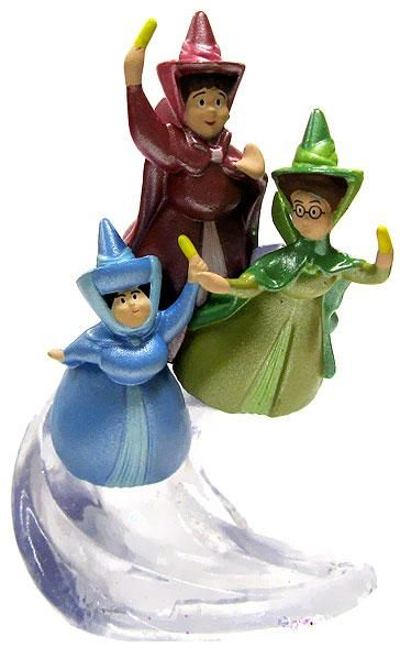 Flora, Fauna & Merryweather PVC Figurine