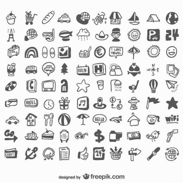 download universal hand drawn set of icons for free how to draw hands drawing set hand drawn icons hand drawn icons