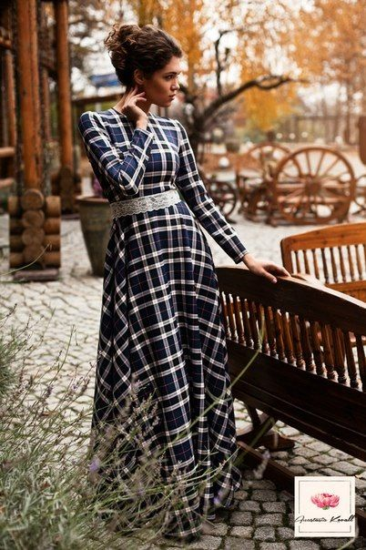 Платье в клетку | Одежда | Tartan dress, Dresses и Plaid dress Тартан Платье