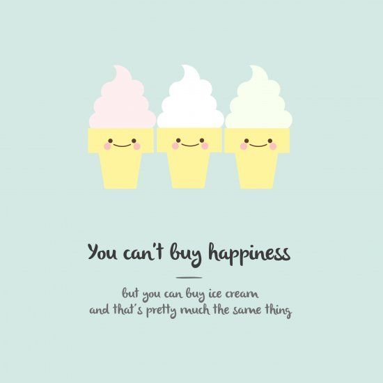 """Cute Ice Cream Wallpapers: Celebrate Summer With This Cute Minty Wallpaper: """"You Can"""
