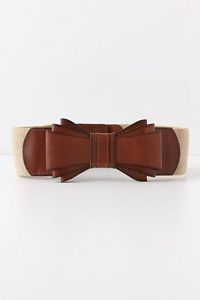 Bowtied Luster Belt.