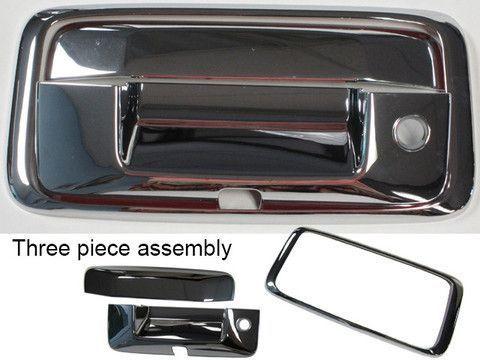 Silverado Colorado 2014 2016 Chevrolet Sierra Canyon 2014 2016 Gmc 3 Piece Tailgate Handle With Camera Cutout Tailgate Silverado Automotive Accessories