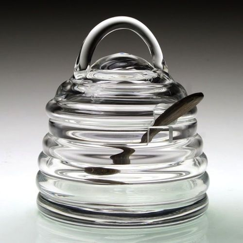 William Yeoward Honeybee Honey Jar W Spoon Country Giftware Nbsp With Stunning Bee Hive