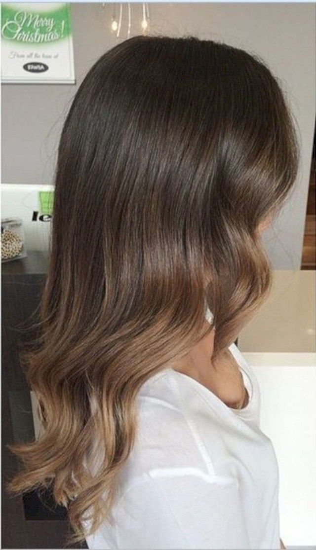 Photo of 16 Naturlig utseende Brunette Balayage-stiler
