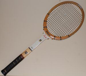 huge selection of 2b09c 90663 Wilson Stan Smith Signature tennis racquet. This old classic ...