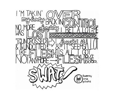 Twenty One Pilots Drawings Coloring Pages