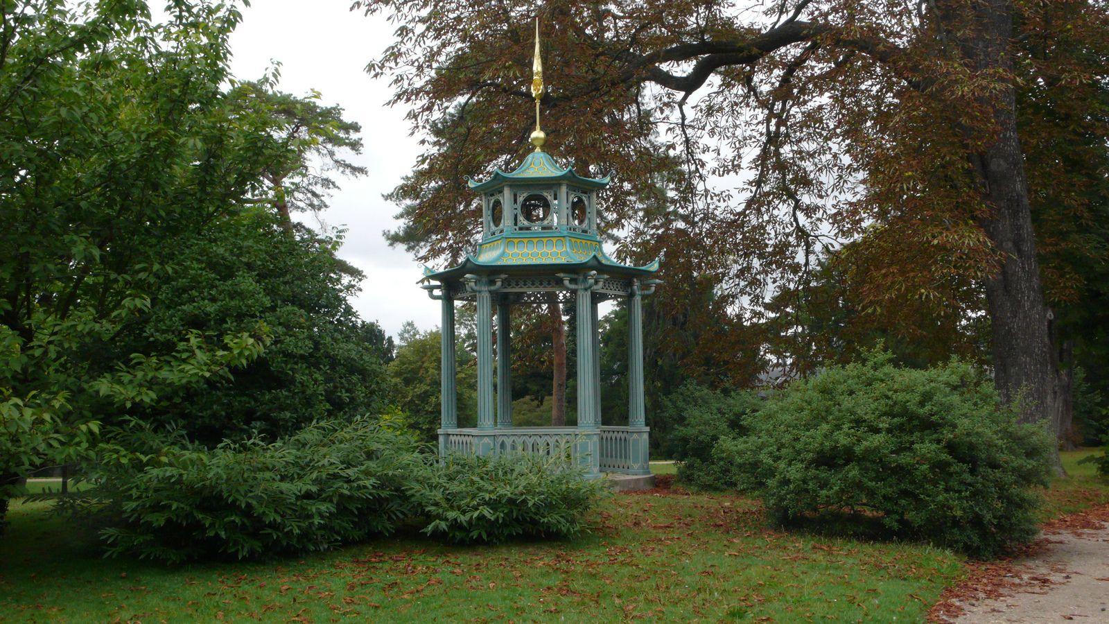 Paris Les jardins de Bagatelle - Pagode   da jeanlouisallix