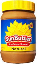 SunButter Natural Sunflower Spread #lowfodmap  Ingredients: ROASTED SUNFLOWER SEED, EVAPORATED CANE SYRUP, SALT, AND NATURAL MIXED TOCOPHEROLS TO PRESERVE FRESHNESS.