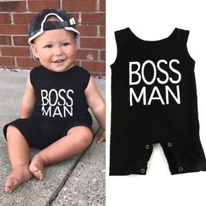 Newborn Infant Baby Boy Girl Kids Romper Jumpsuit Cotton Bodysuit Clothes  Outfit 040690eef5