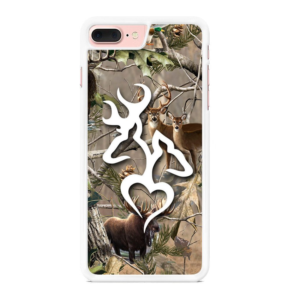 Browning deer love realtree camo iphone 7 plus case with
