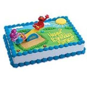 Hy Vee Decorated Cakes Sesame Street Cake Ck 544 Elmo Cake Sesame Street Cake Cake Decorating Kits
