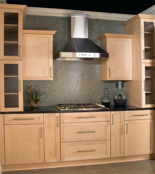 Natural Maple Kitchen Cabinets: Natural Maple Shaker Kitchen Cabinets Maple Shaker Natural