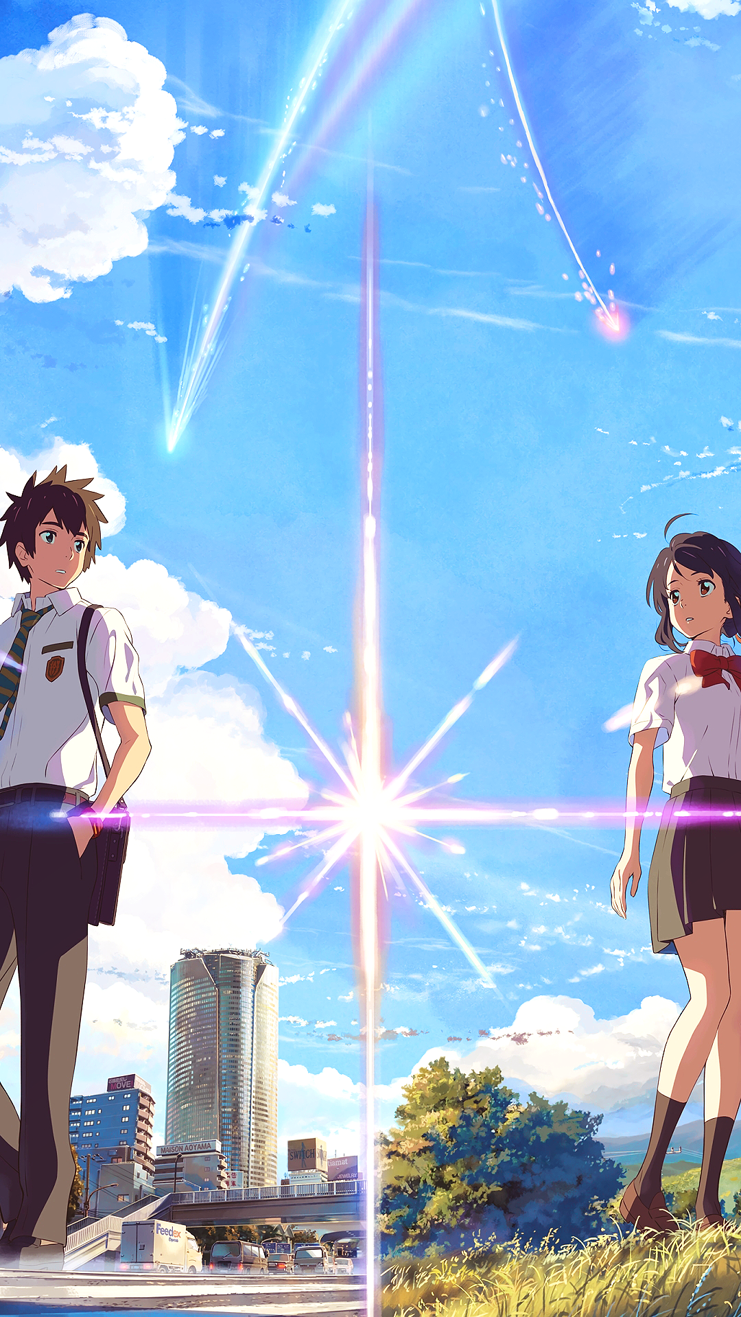 Download 58 Wallpaper Hd Anime Your Name Gratis Terbaru