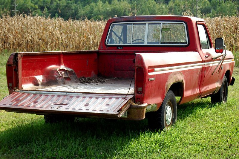 Beat Up Old Pick Up Truck Pick Up Truck Love Michael Penney