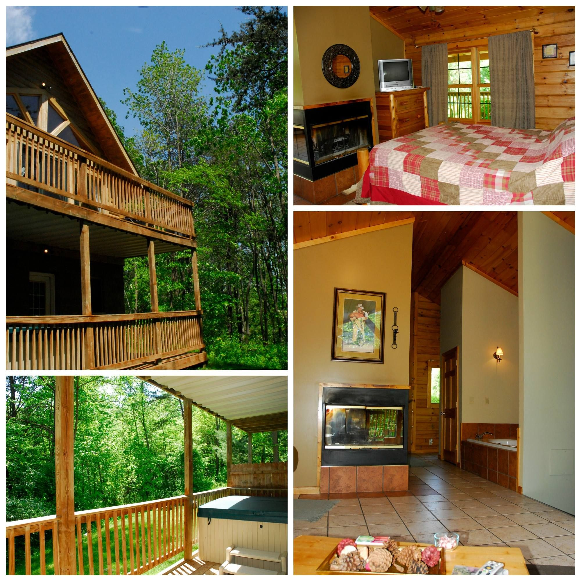 rentals hills cabins cabin den hideaway family fox availability in ohio room check hocking