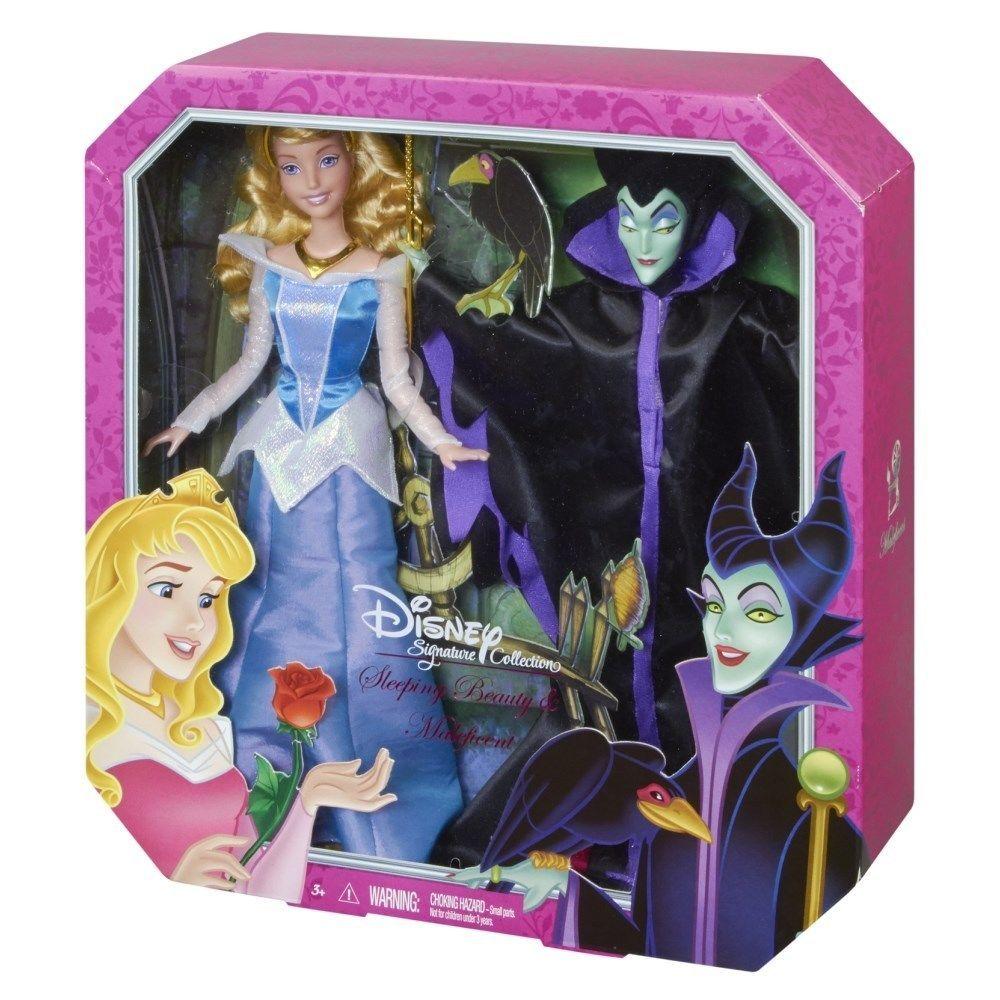Disney 6 Princess Doll Christmas Ornament Set Designer Collection LE NIB