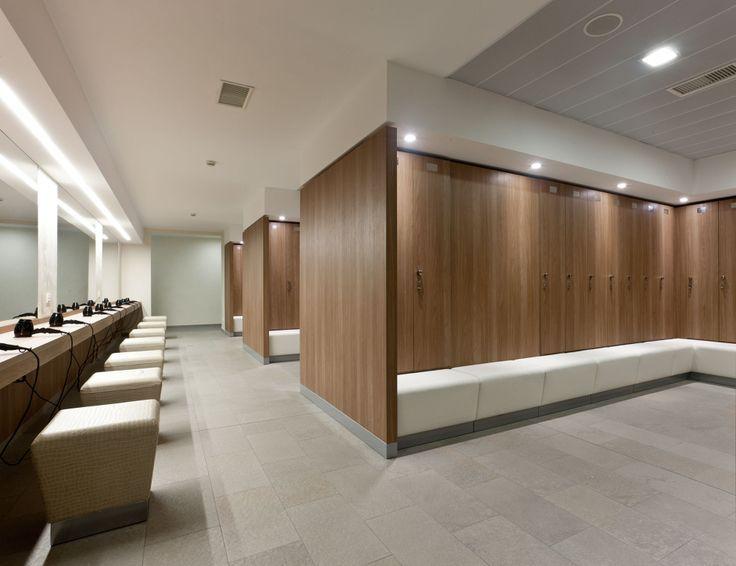 Modern contemporary bathroom interior design pictures to pin on - Quot Modern Locker Room Quot Golf Pesquisa Google Refs Rio