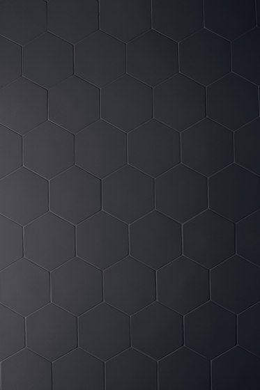 Phenomenon hexagon nero di Ceramiche Mutina | Mosaici