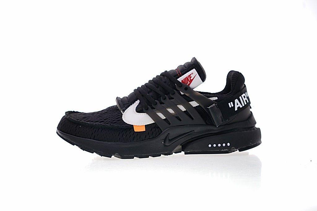 sports shoes 06be4 45a87 Acquista Off White Scarpe ,A Buon Mercato Off White x Nike Air Presto Nero  Bianca In Vendita