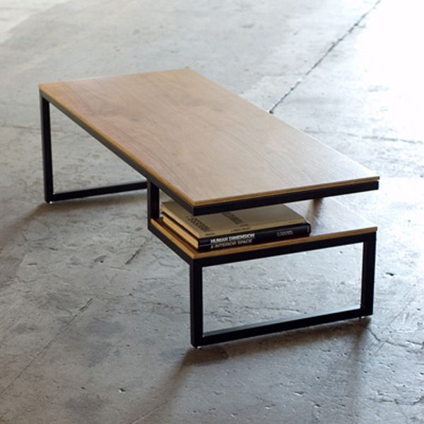 mesa moderna con tonos de madera project Pinterest Mesa
