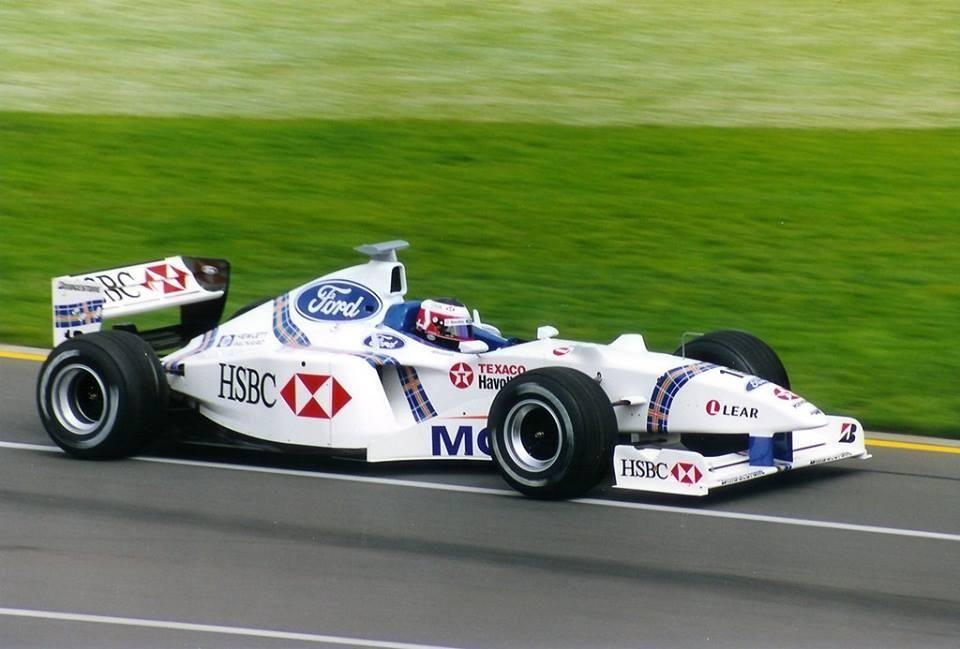 Jan Magnussen - Stewart SF02 Ford VJ Zetec-R 3.0 V10 - Australian GP, Melbourne 1998 -