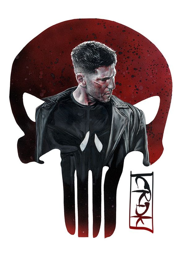 The Punisher by Craig Deakes