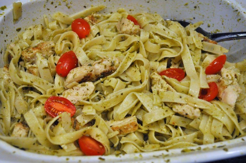 Chicken Pesto Pasta #GrilledEssentials