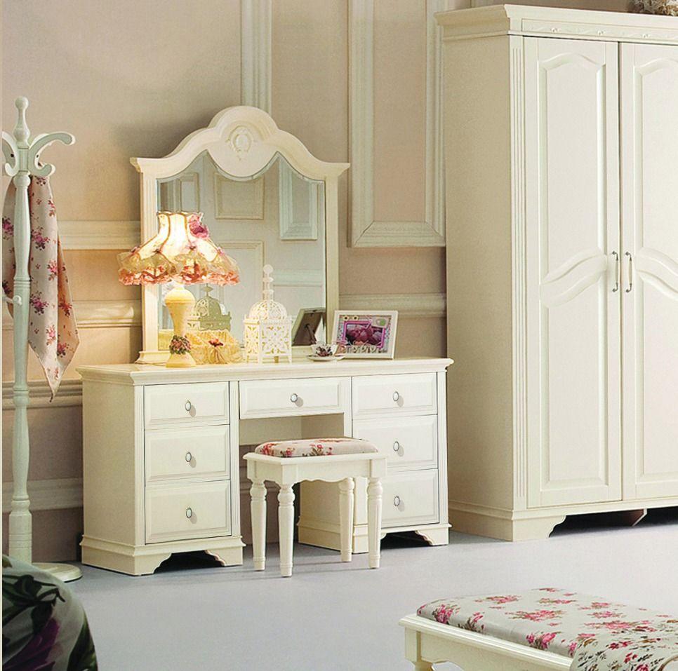 Elegance la lune seven drawer dresser with mirror bay street