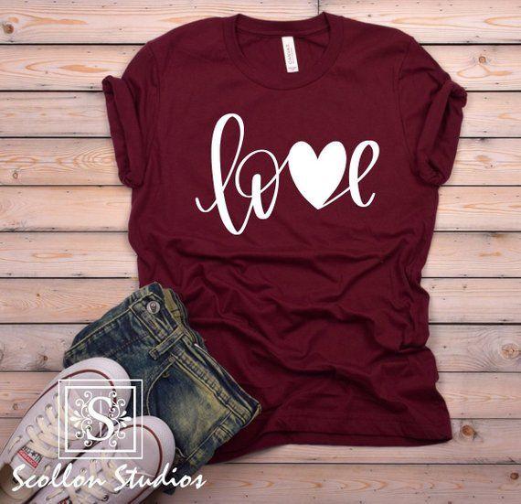 Valentines Shirt, Love T Shirt, Love Shirt, Unisex