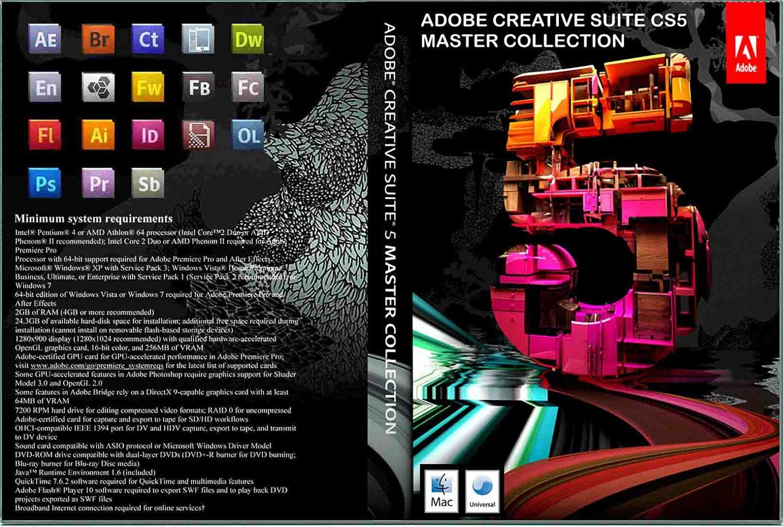 adobe master collection cs 5.5 serial number