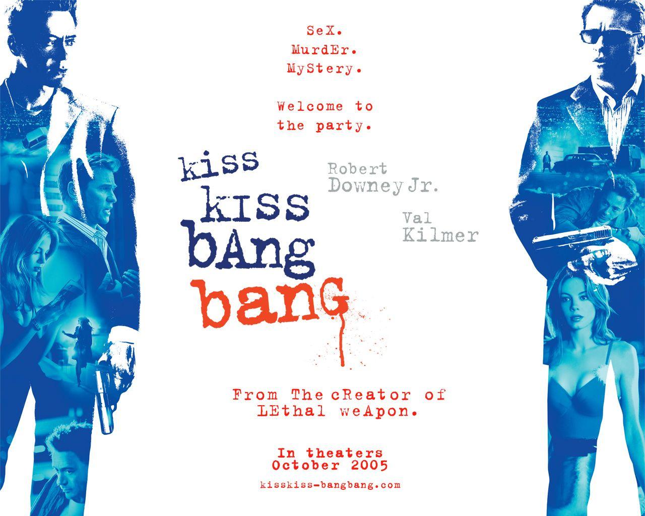 Image result for kiss kiss bang bang poster
