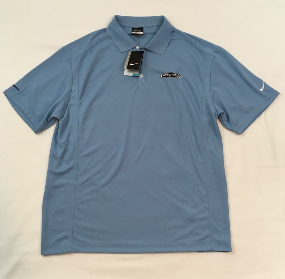 be58b381a Nike Golf Dri Fit Mens XL Polo Shirt Detroit Freightliner Blue Extra Large  #fashion #clothing #shoes #accessories #mensclothing #shirts (ebay link)