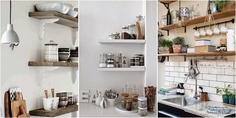 25 maneras de poner unas baldas en tu cocina | Decoración | RED ...