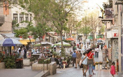 Calle Ben Yehuda Corazón De Jerusalén Y Principal Centro Comercial Street View Street Scenes