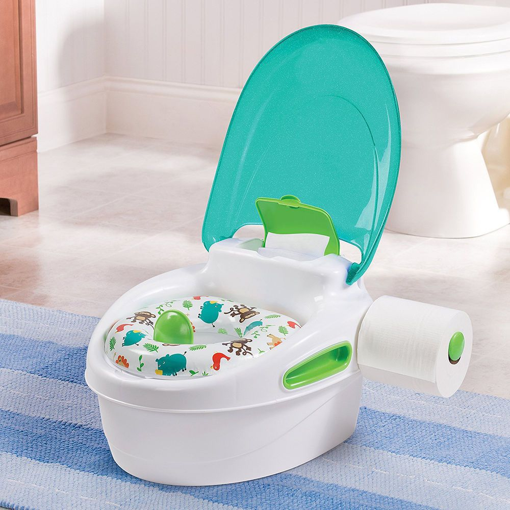 Summer Potty Chair Plywood Molded Baby Training Seat Kids Toilet Toddler Infant Step Stool Bathroom Summerinfant