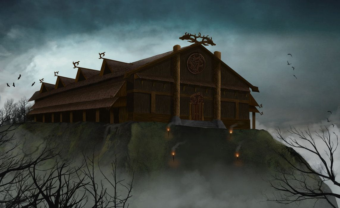 heorot hall in beowulf