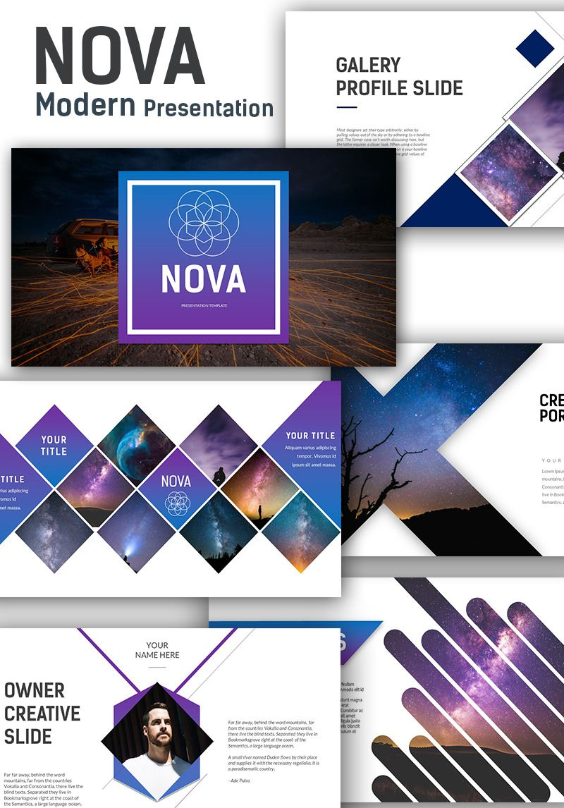 Powerpoint Vorlage Namens Nova Modern Presentation 70819