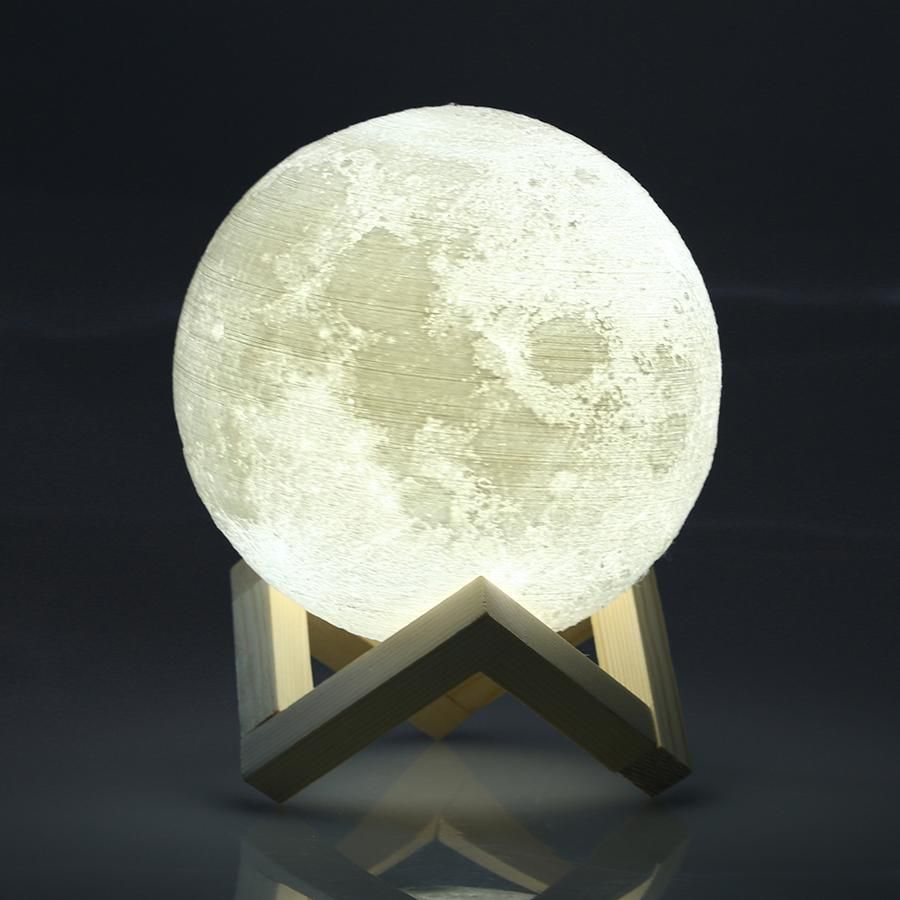 3d Paint Moon Light Lamp 16colors Moon Light Lamp Night Light Led Night Light