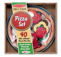 Melissa & Doug Felt Food Pizza Set (3974)