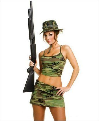 Sexy Womans Camouflage Hunter Outfit  sc 1 st  Pinterest & Sexy Womans Camouflage Hunter Outfit | Hubby | Pinterest | Hunter ...