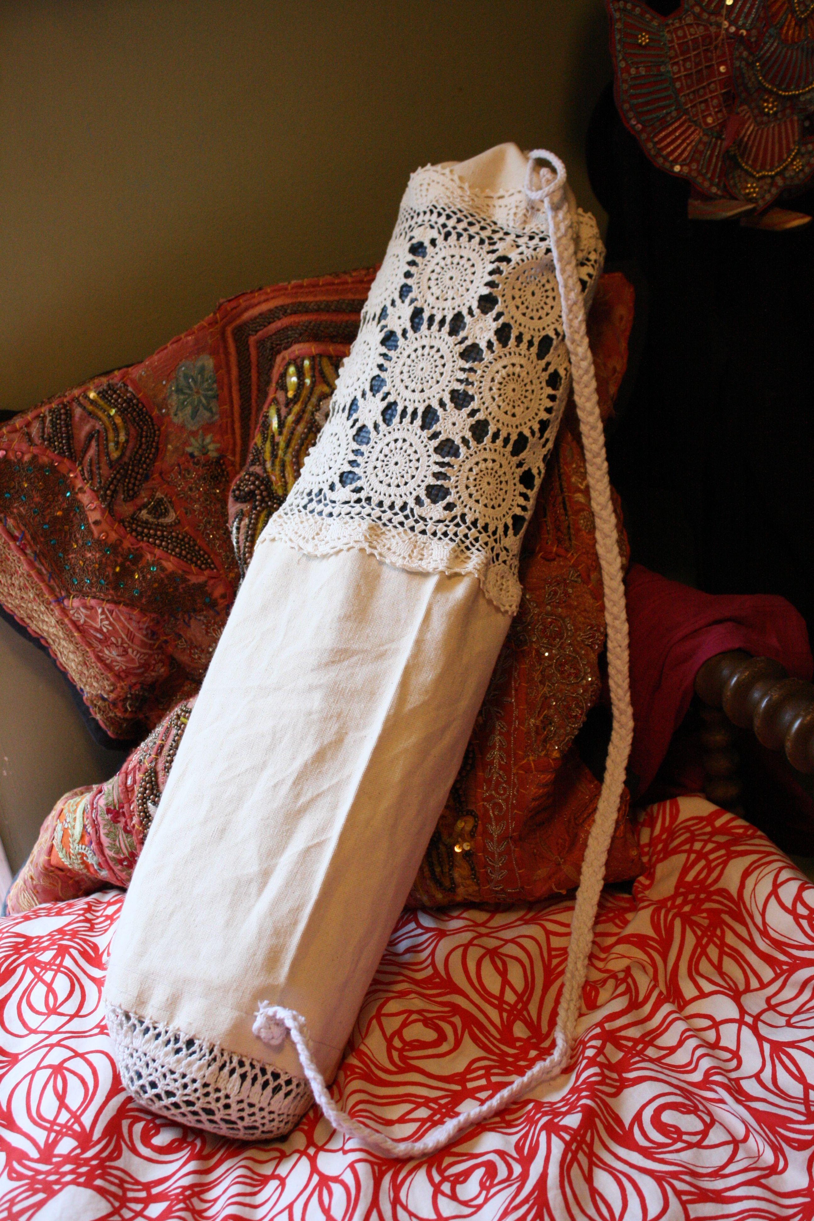 DIY Yoga Strap - Make your own Cute Yoga Strap Tutorial