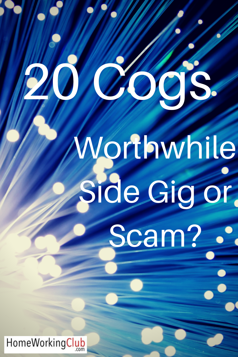 20 Cogs Review Is this UK Side Gig Worthwhile